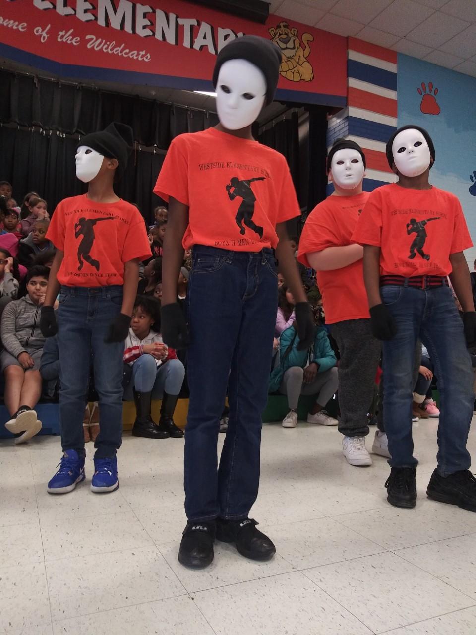 Black History Program performance