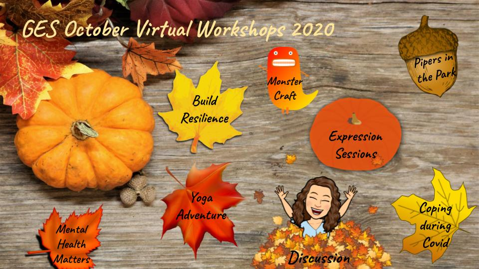Virtual Workshops Banner