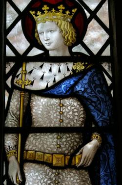 St. Edward stained glass window