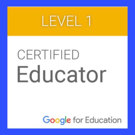Google Certification Level 1 Badge