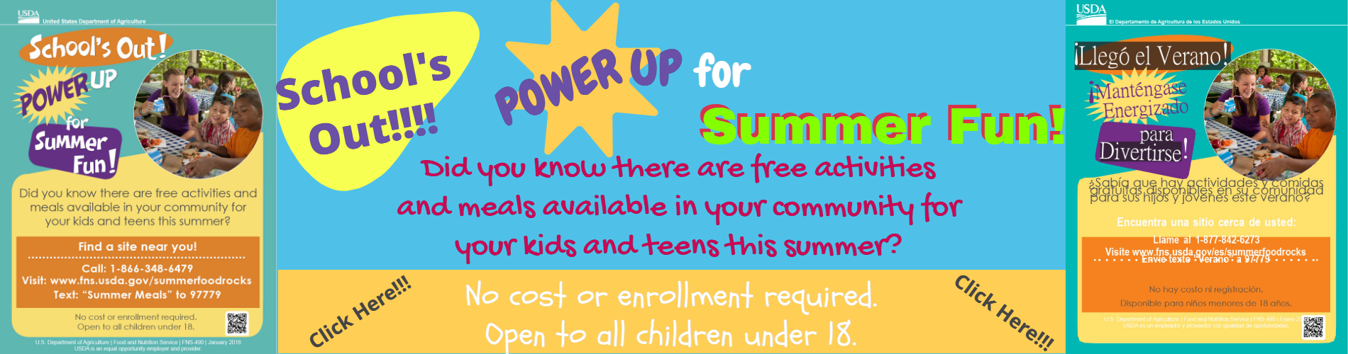 USDA Summer Fun Announcement