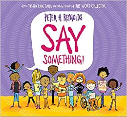 Say Something Clipart