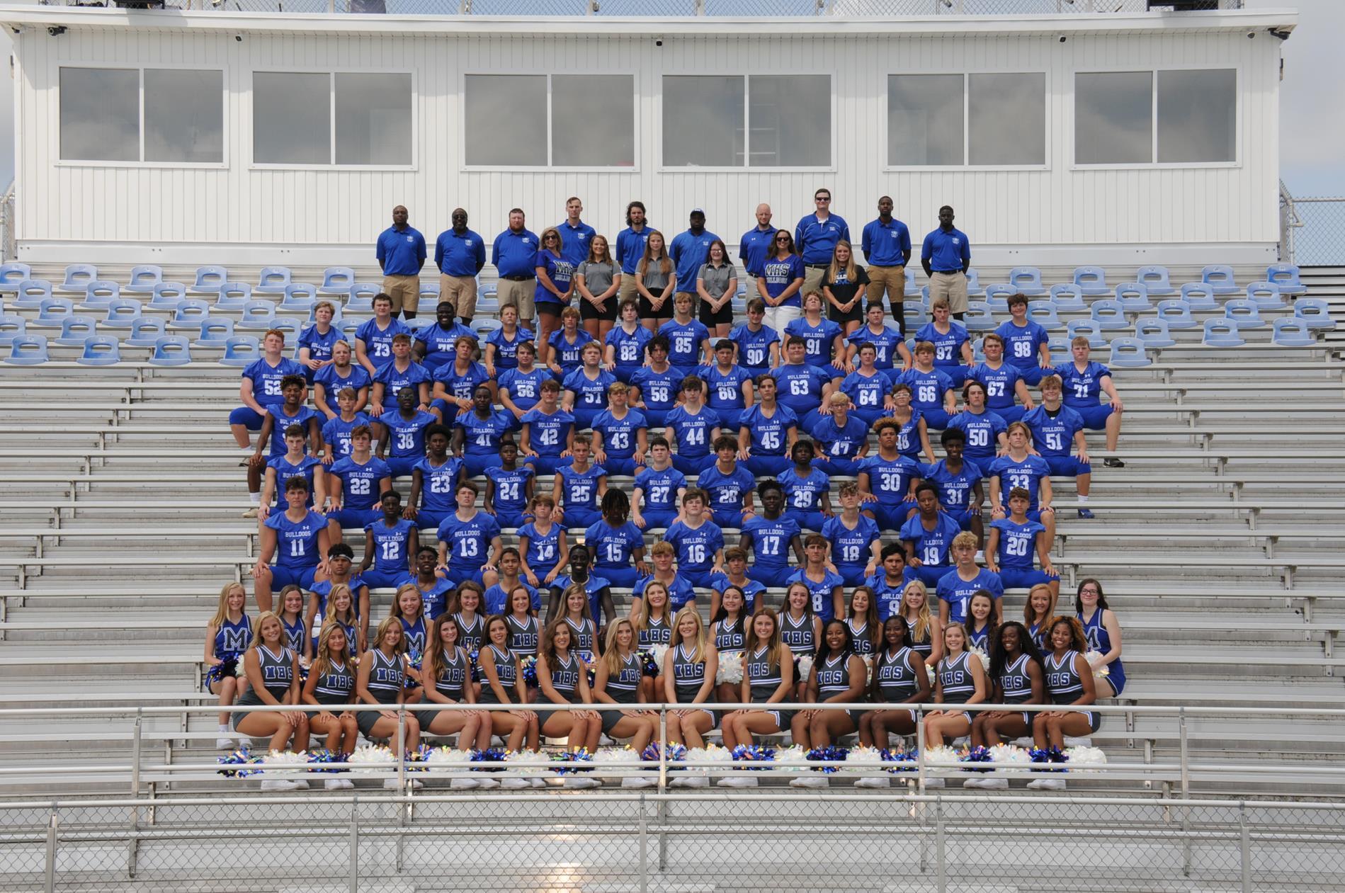 20-21 JV Football Team