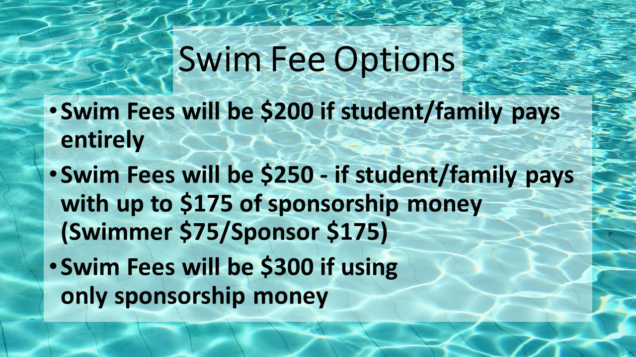Swim Fee Options