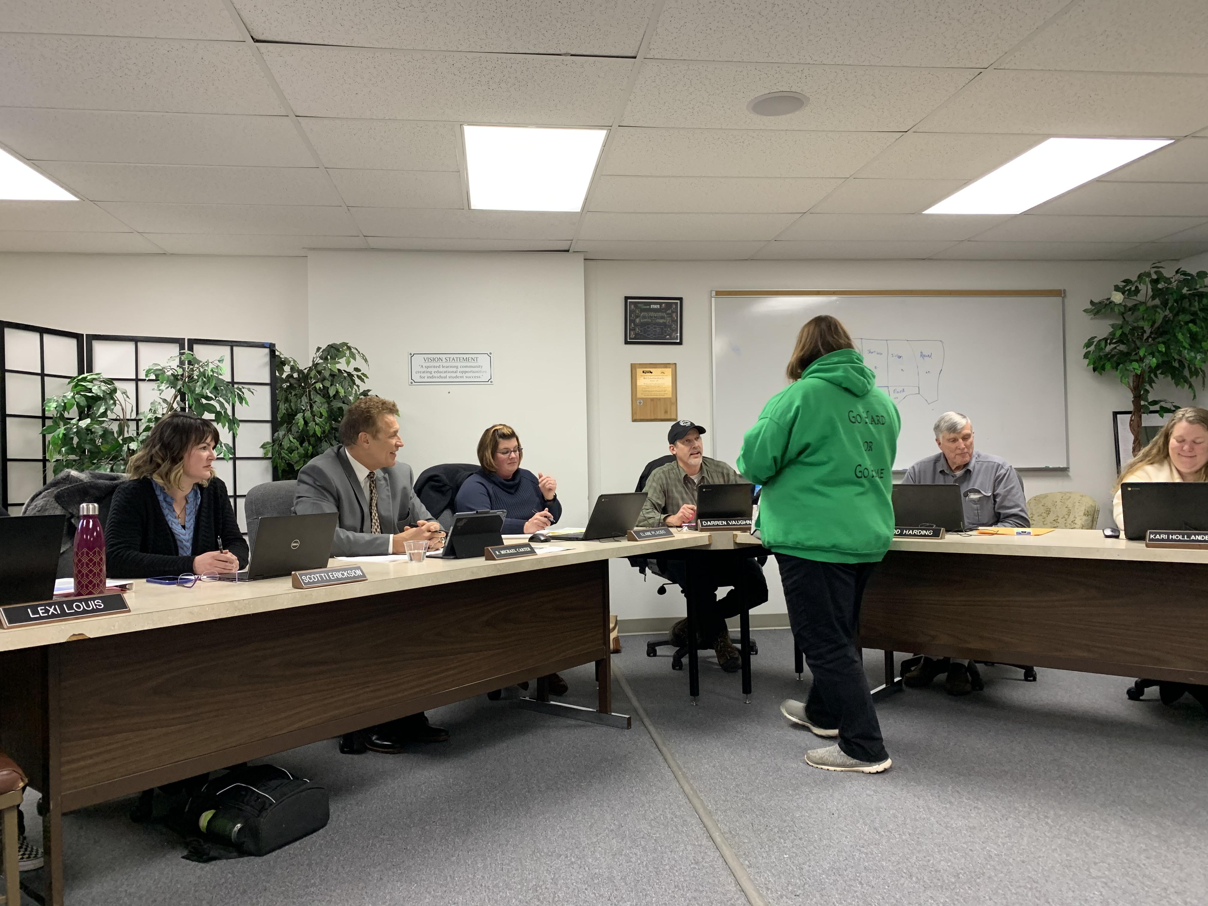 School Board Meeting, Jan. 2020 2