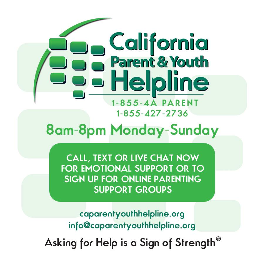 CA Parent & Youth Helpline