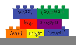 school counselors help students build bright futures clip art