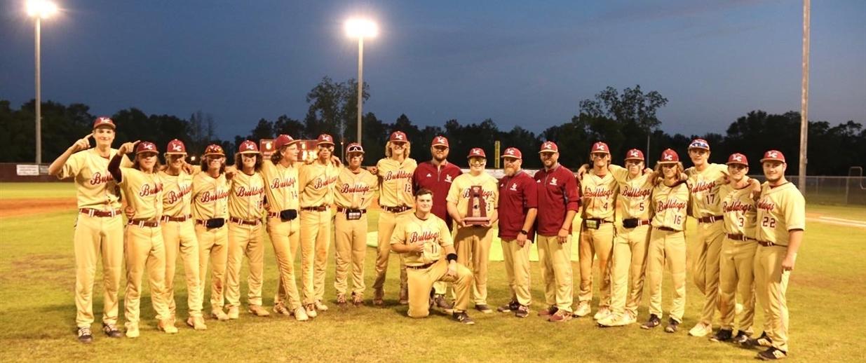 LCHS Baseball - District Champions 2021