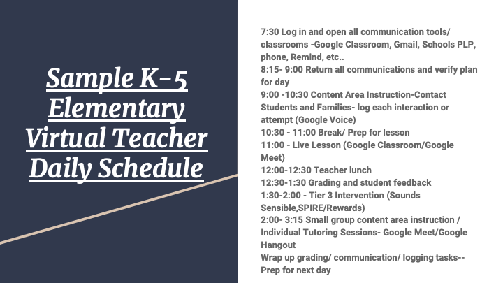 Virtual School Slide 20