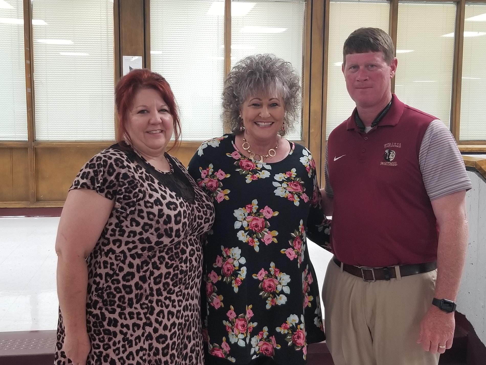 Norma Croft, Seidling & Dr. Garrett Wilcox