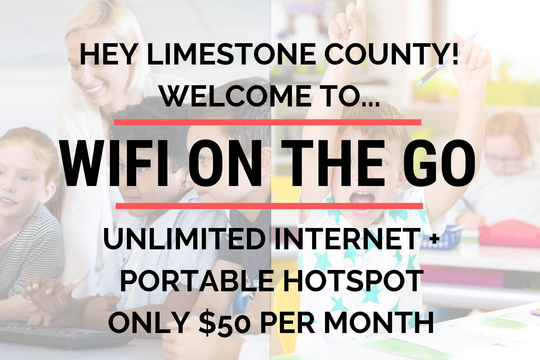 WiFi on the Go