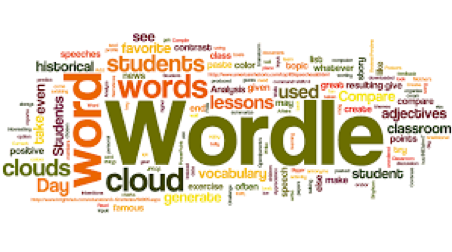 Create word clouds using any type of text! http://www.wordle.net/