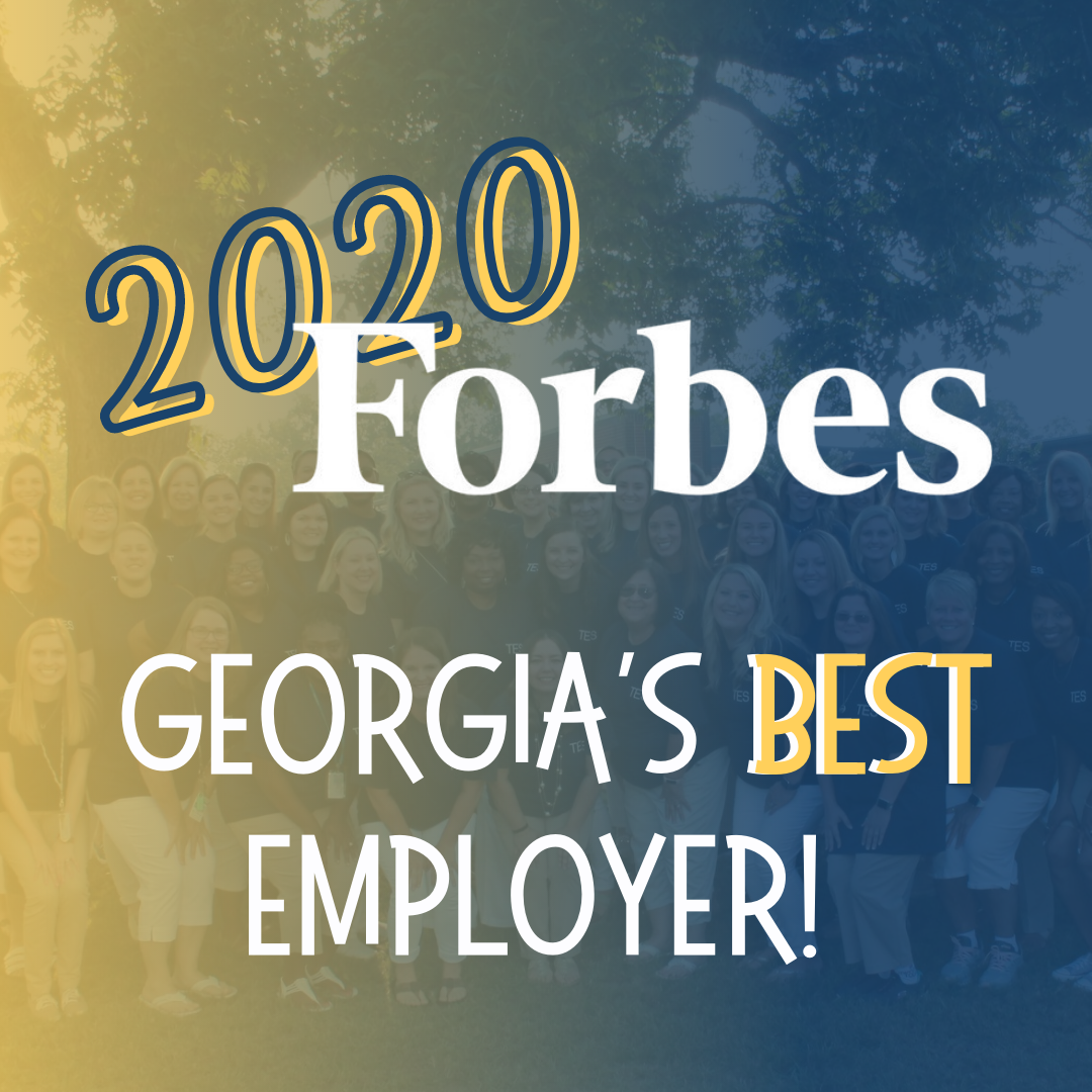 2020 Forbes Best Employer in Georgia