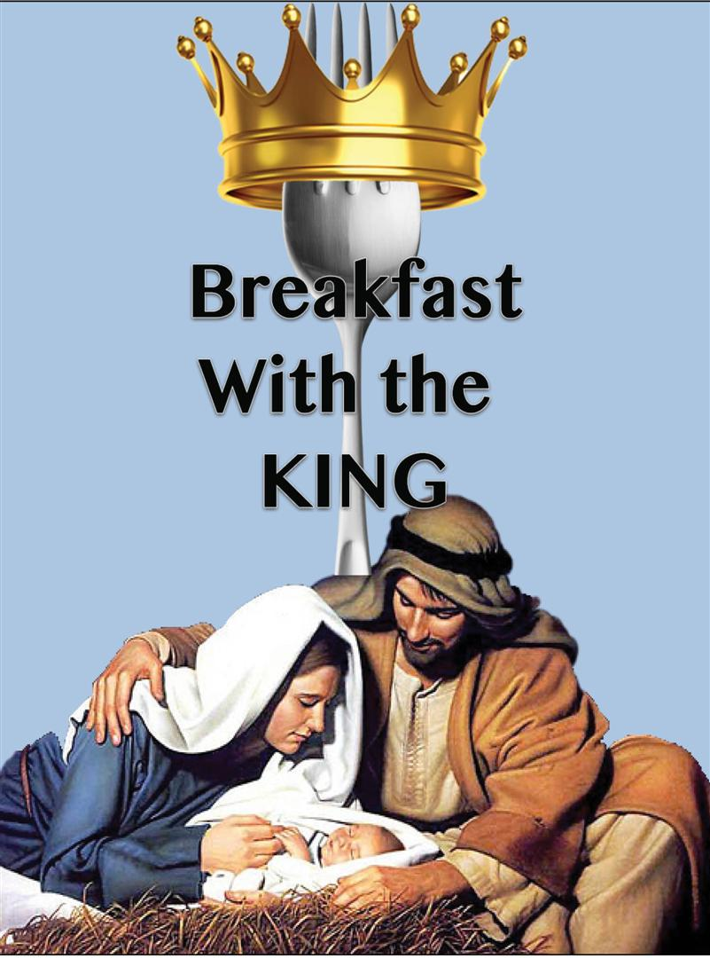 Breakfast with the King Logo