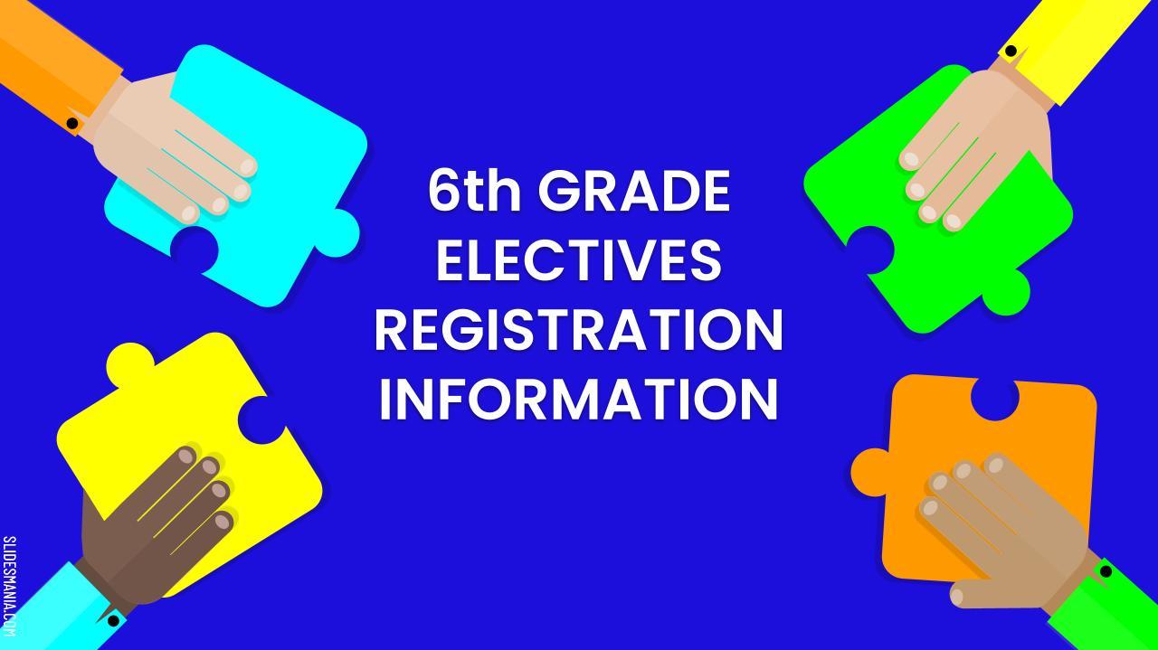 slide with registration info.