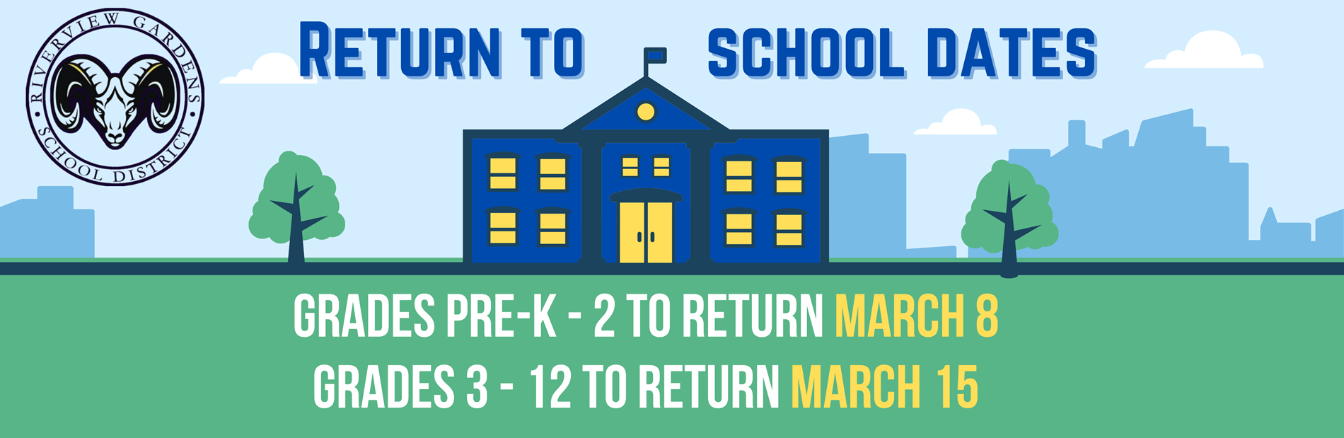 Return to In-Person Instruction - March 2021