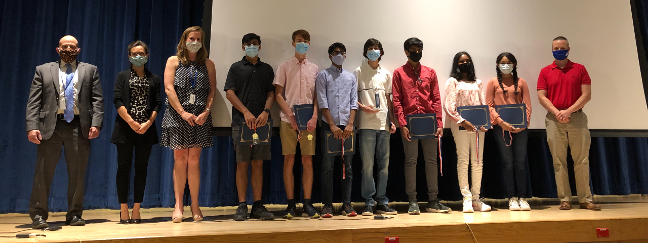 RHHS student award winners