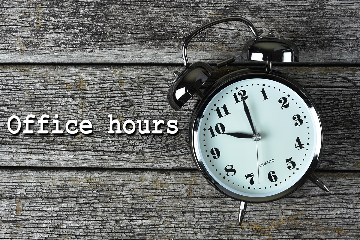 Sign up for Office Hours!