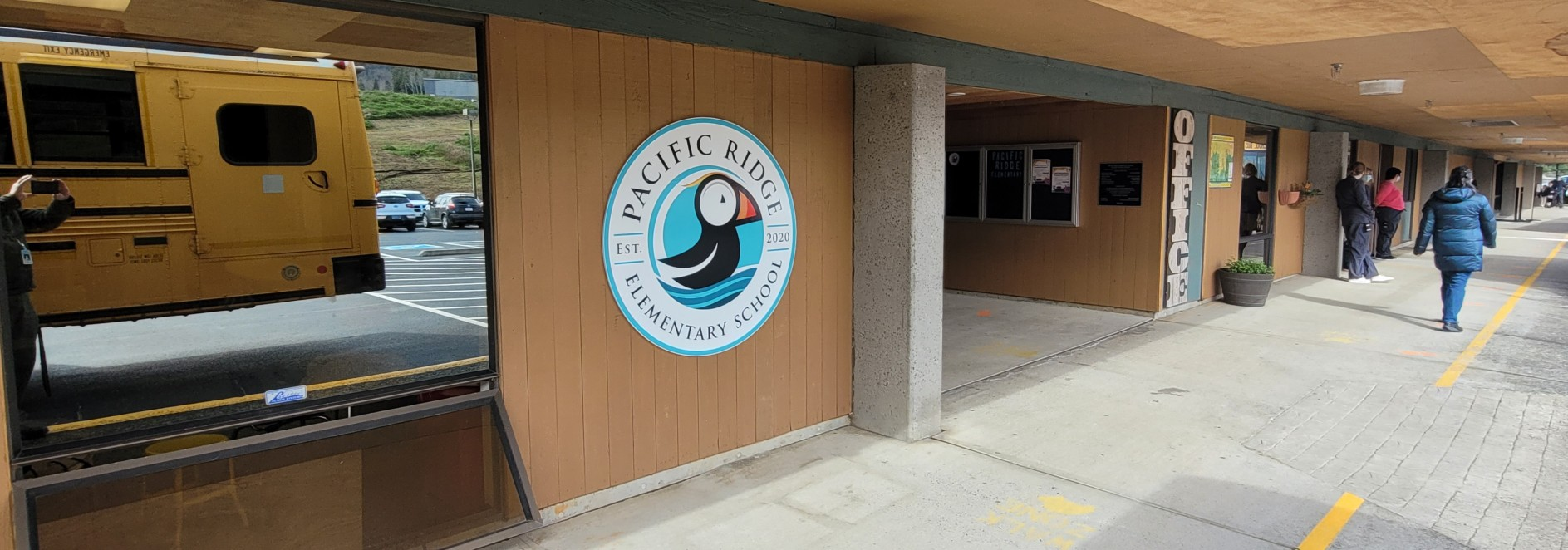 Pacific Ridge Elementary Entrance