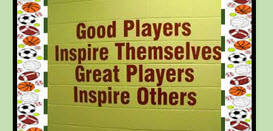 West Point - Good Players Motto