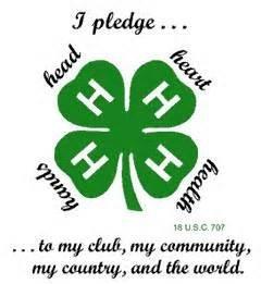 4-H Green Clovers logo