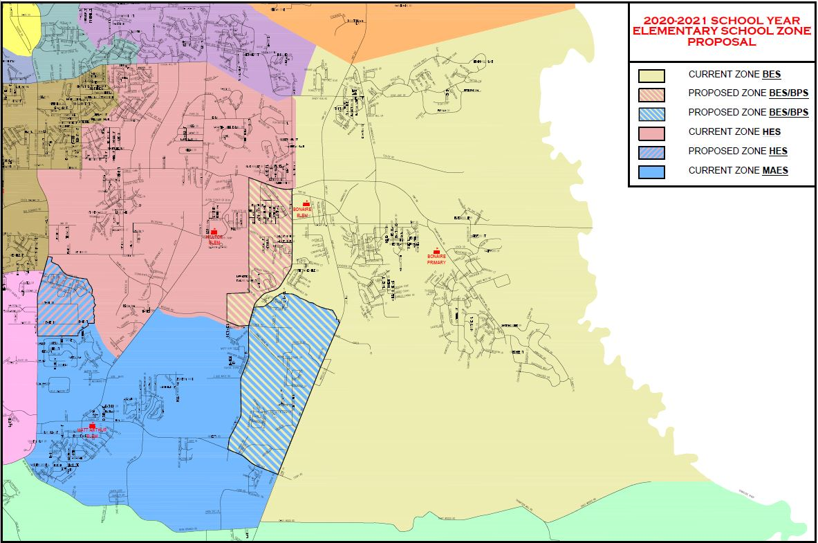 2020-2021 School Year Elementary School Zone Proposal