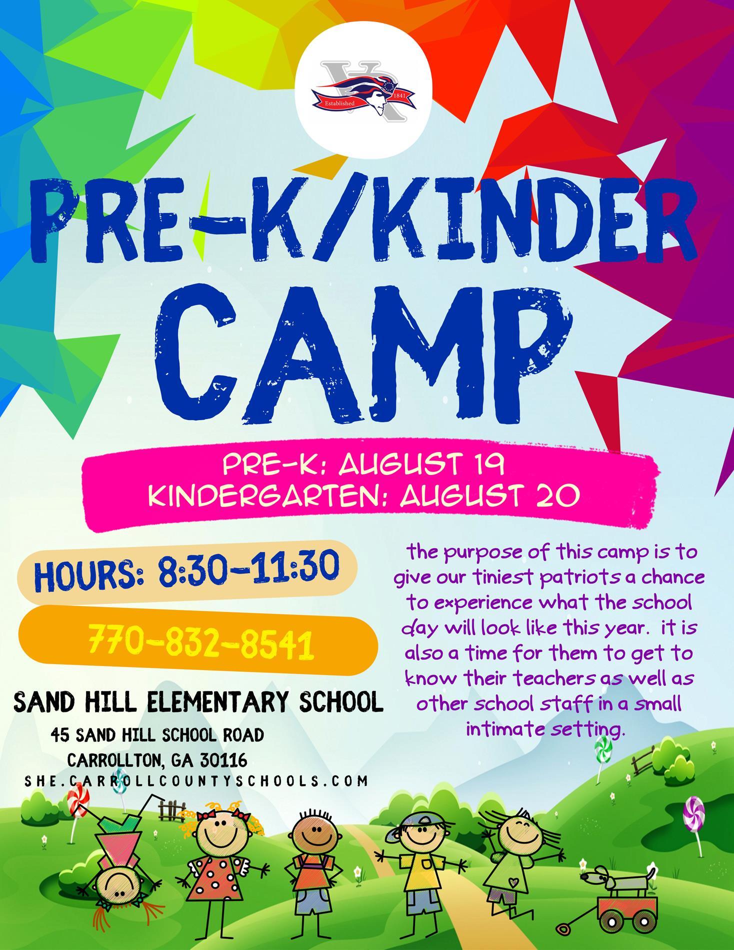 Pre-K Camp