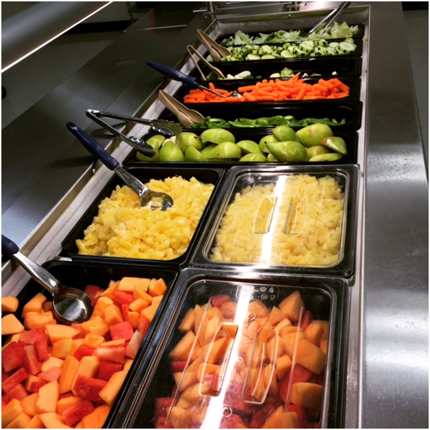 Image of Salad Bar at JCC High