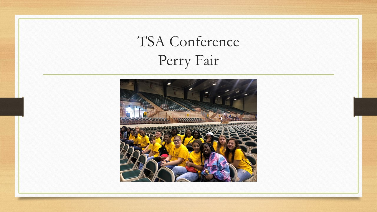 TSA -Perry Fair Conference