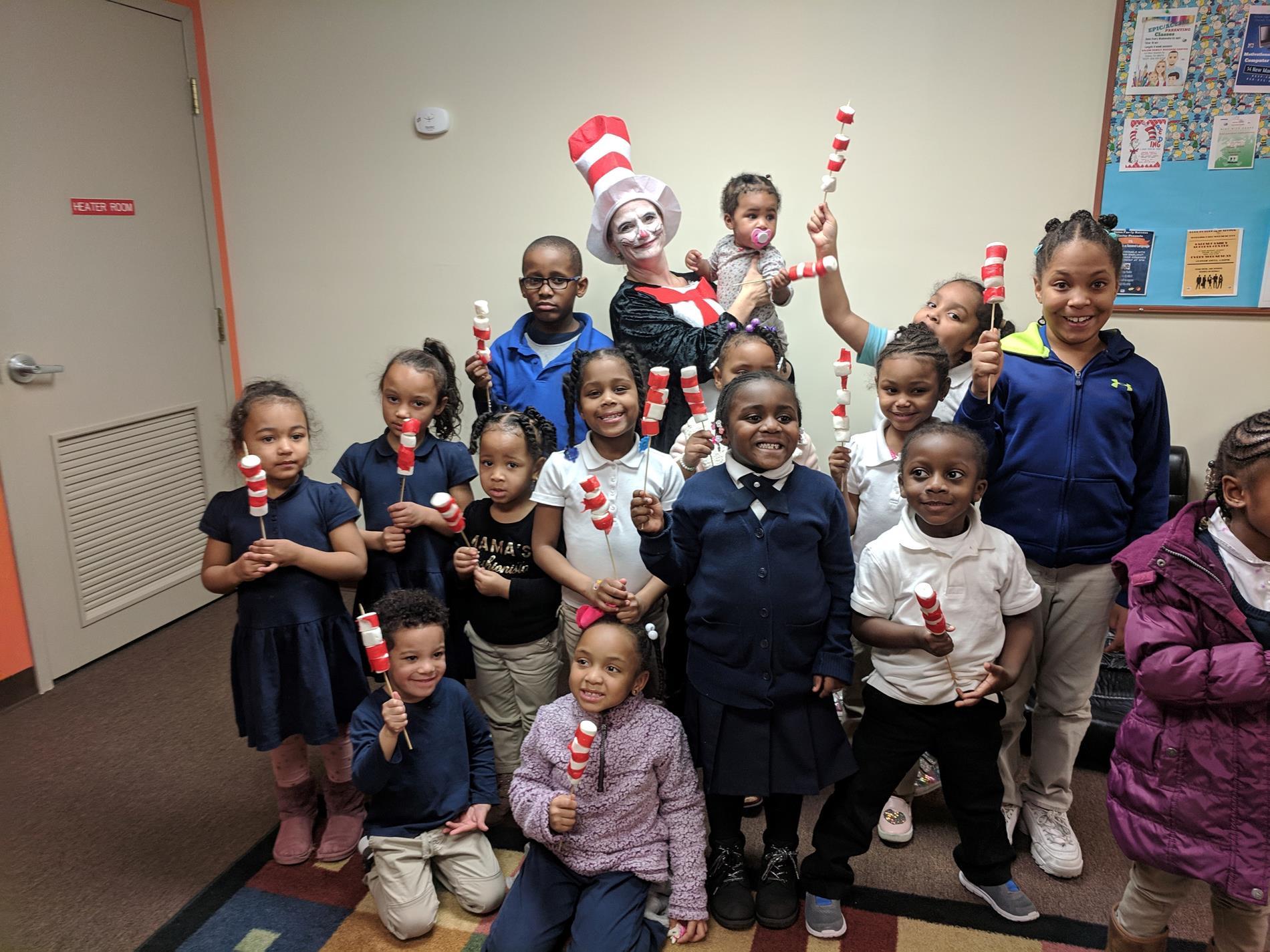 Salem FSC kids reading