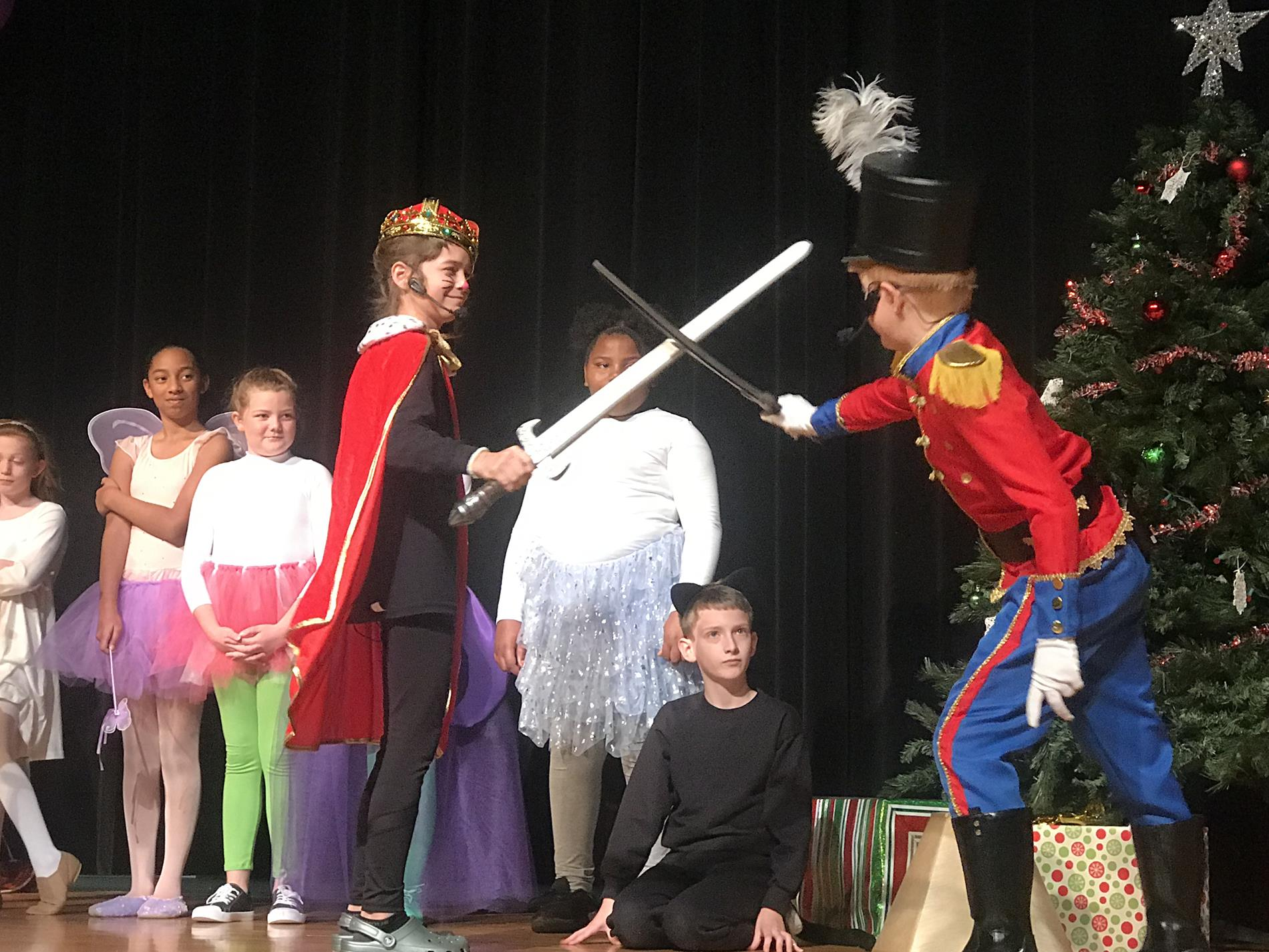 Nutcracker performance