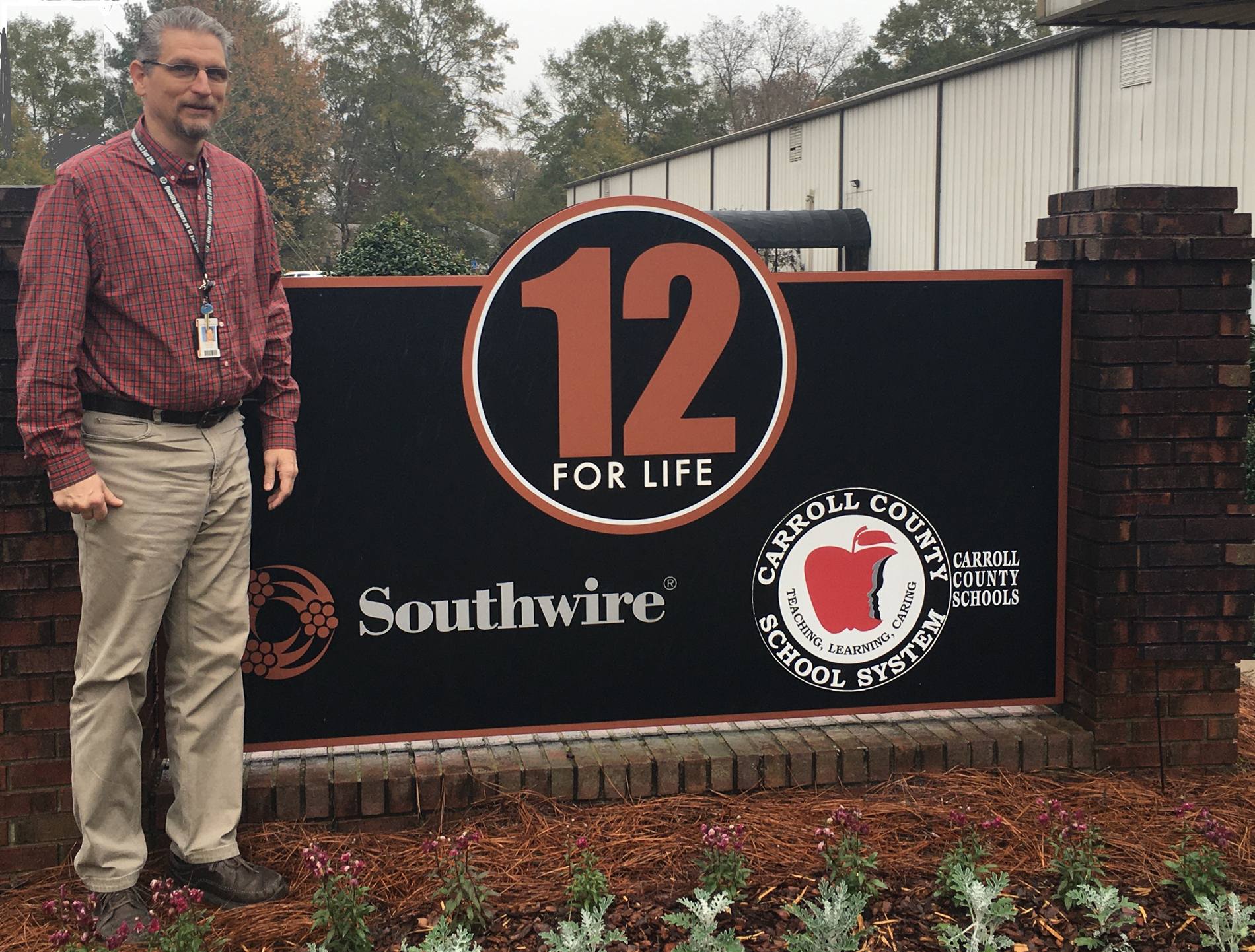 Mr. Grubbs Principal and Site Supervisor of 12-for-Life