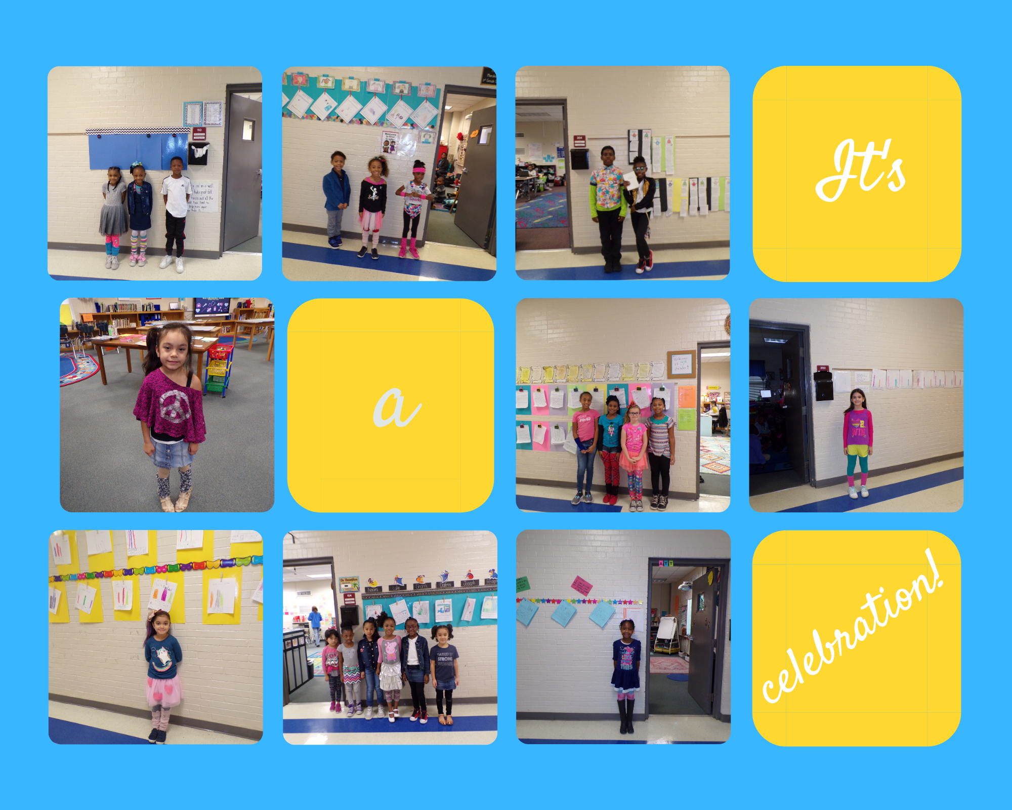 Celebrating the 80th Day of School