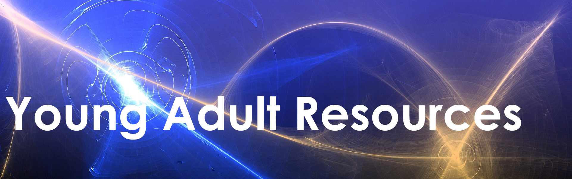 Young Adult Resources title banner