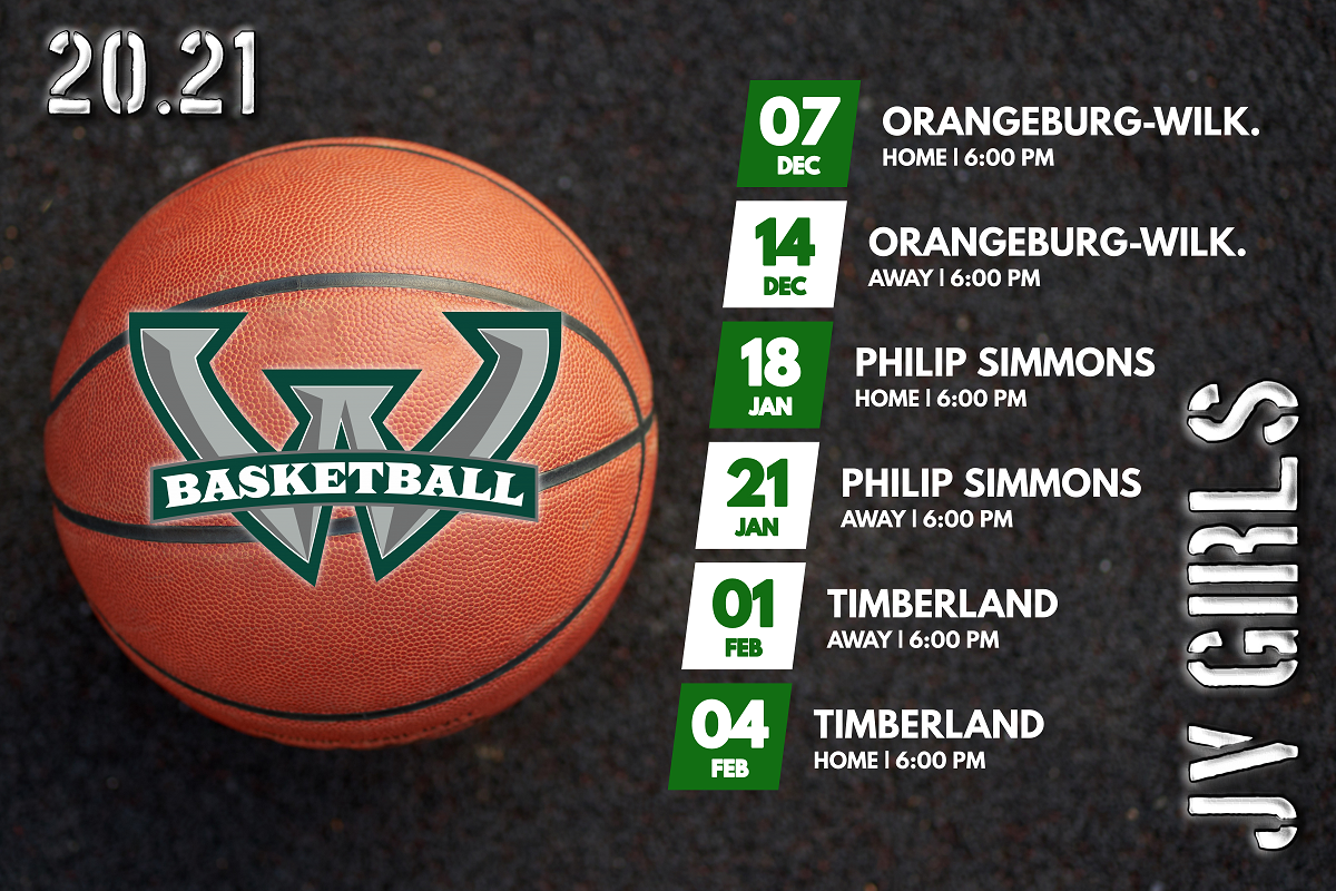 JV Girls Basketball Schedule