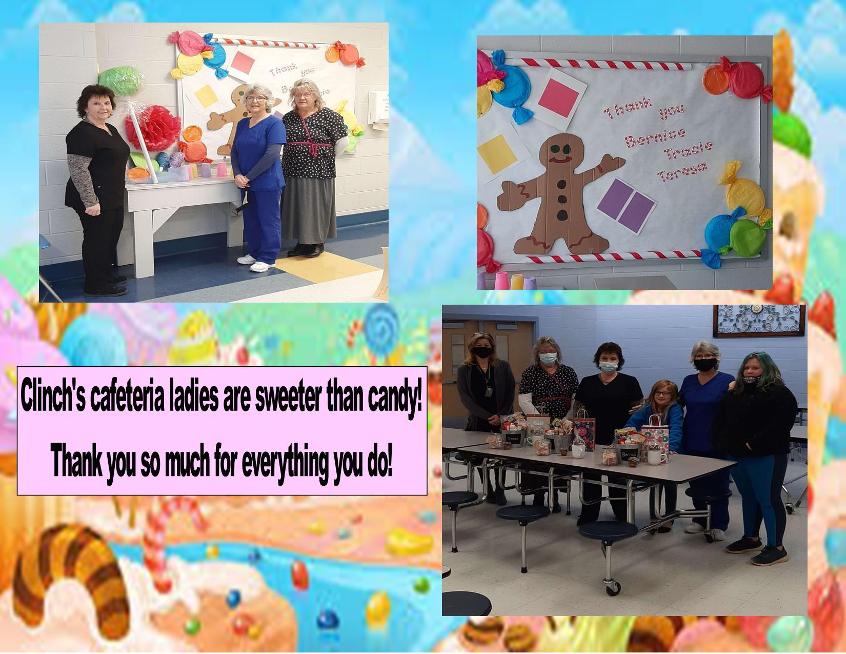 Clinch Cafeteria Staff Appreciation