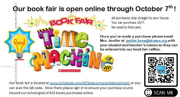 Shop our online scholastic bookfair