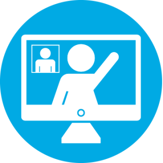 virtual meeting icon