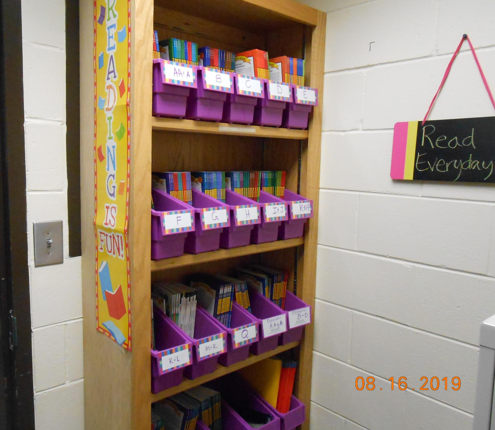 Parent Lending Library in the Parent Resource Center