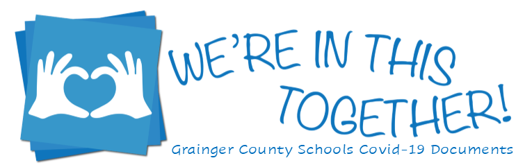 We're in this together Grainger County banner image
