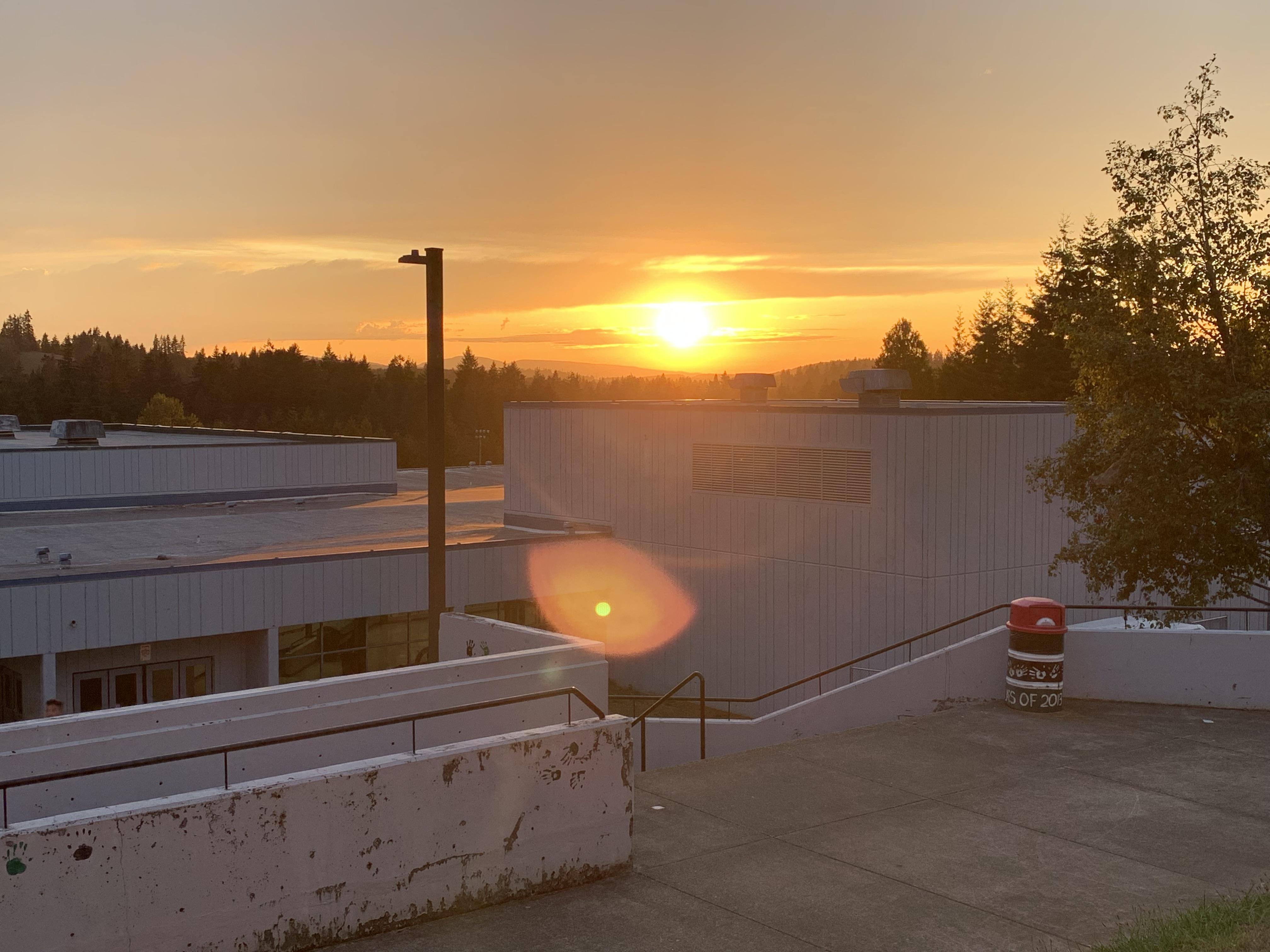 Junior High Sunset