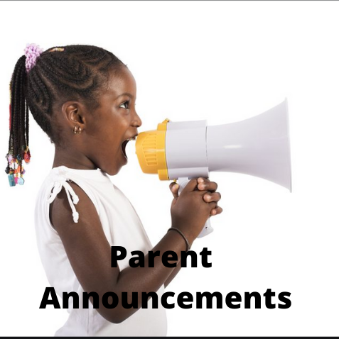Parent Announcements