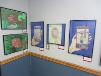 Photo of student artwork
