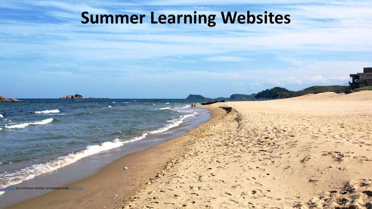 Summer Learning Websites