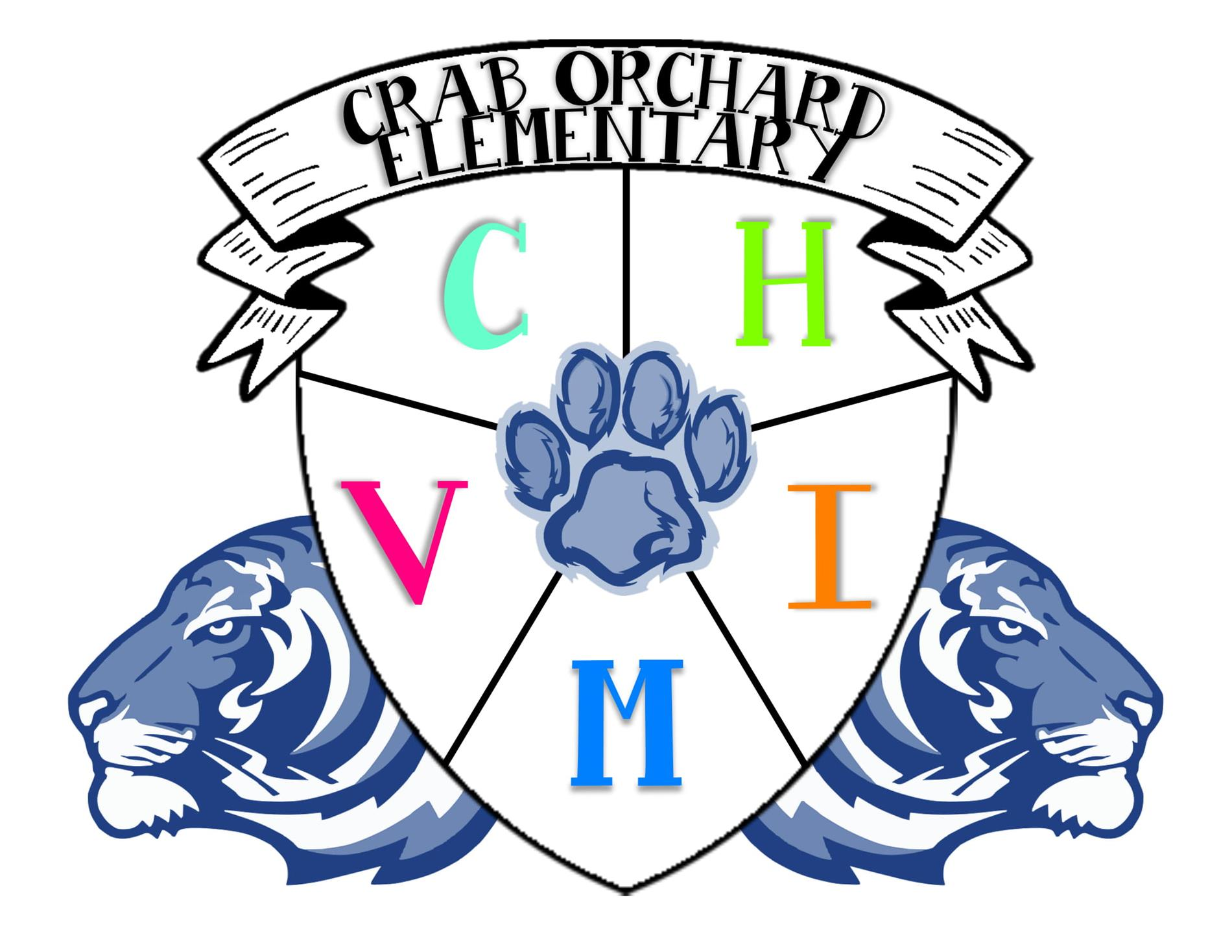 Crab Orchard School crest