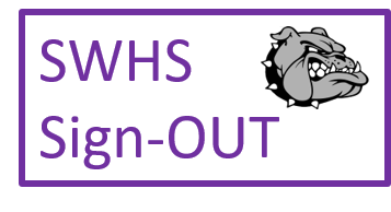 SWHS Sign Out