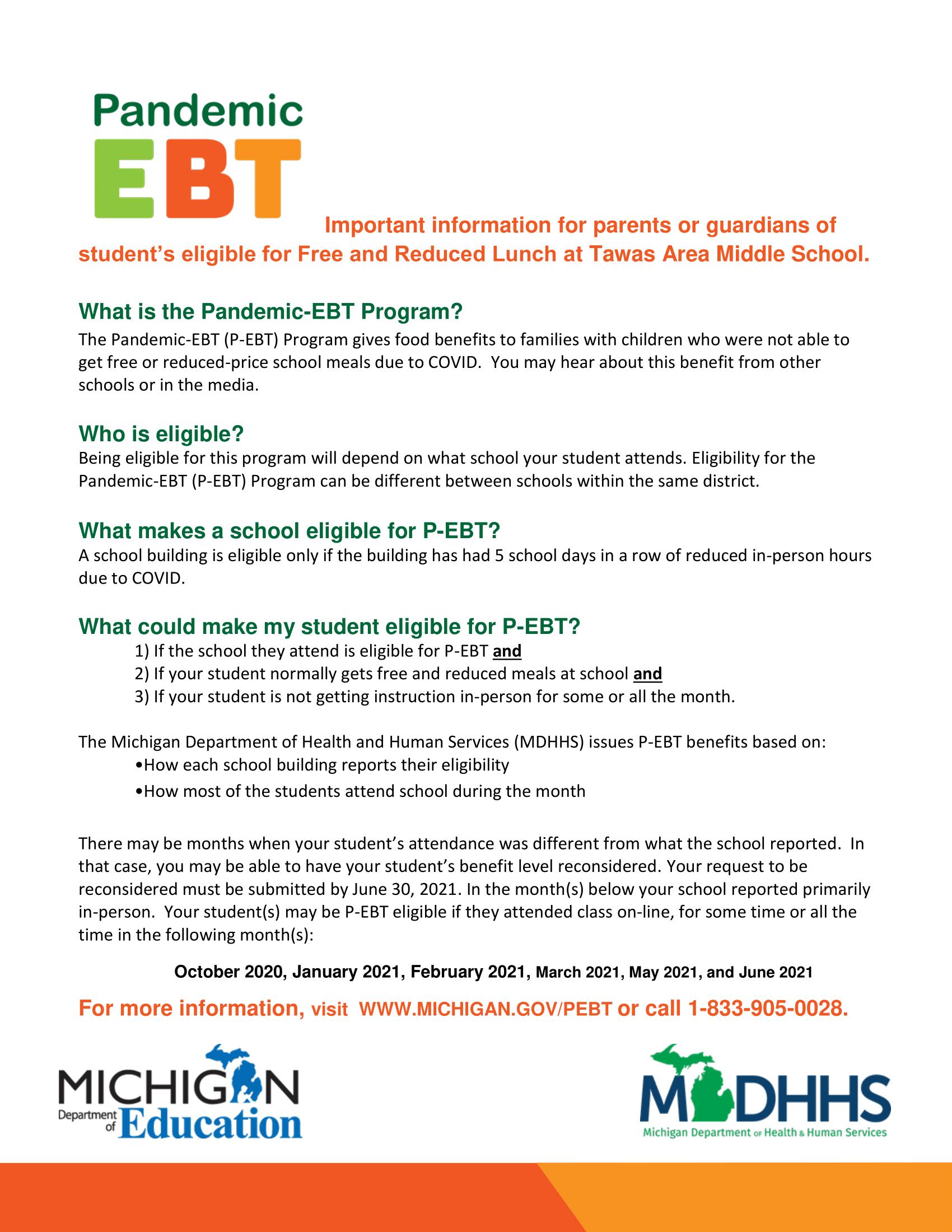 Pandemic-ebt information