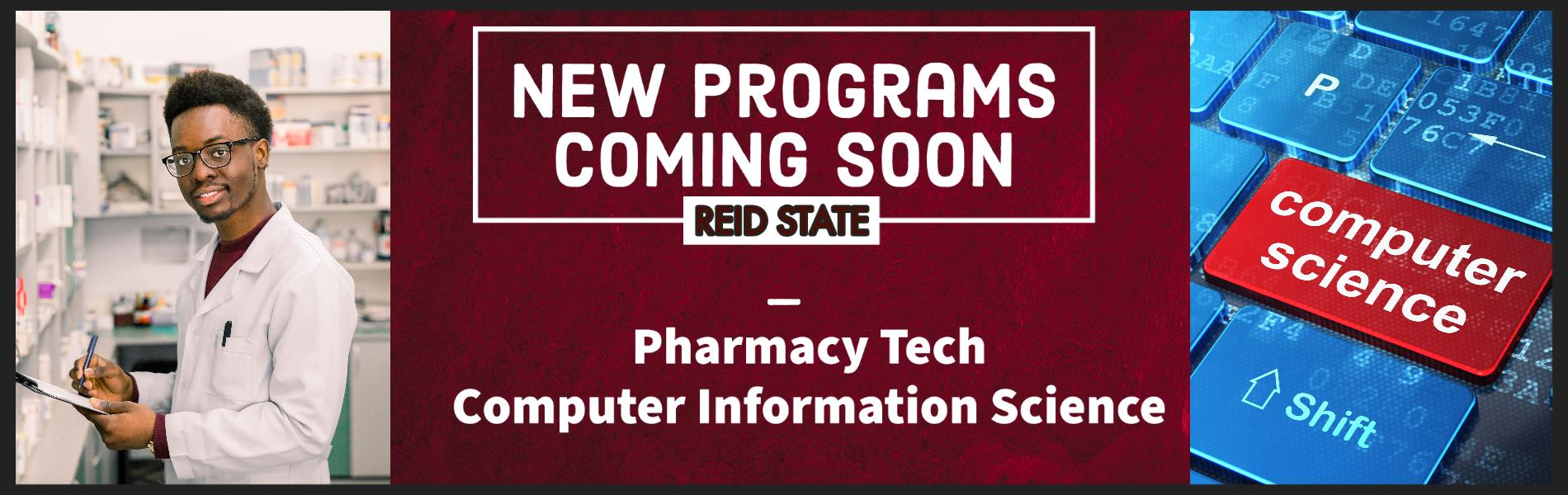 New Programs Coming Soon