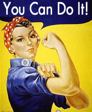 You Can Do It poster by J. Howard Miller in 1943