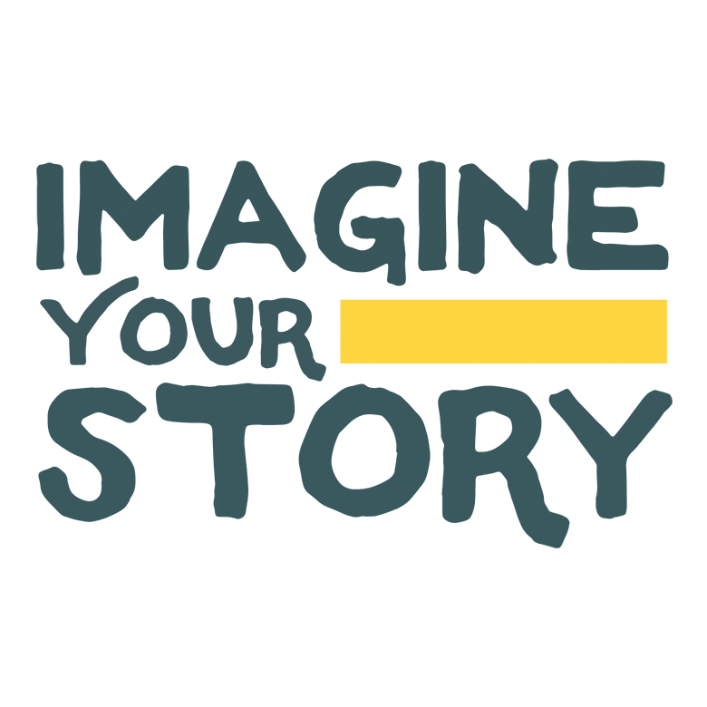 Imagine Your Story CSLP adult logo design